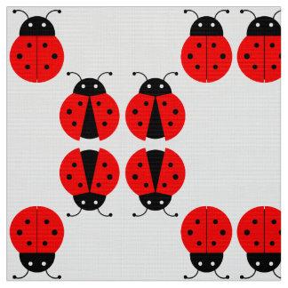 Good Luck Ladybugs Fabric