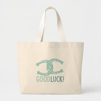 Good Luck Large Tote Bag