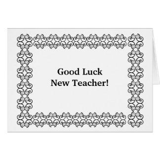 Good Luck New Teacher! Card
