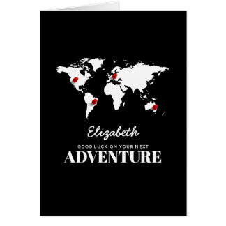 Good Luck On Your Next Adventure | Bon Voyage Card