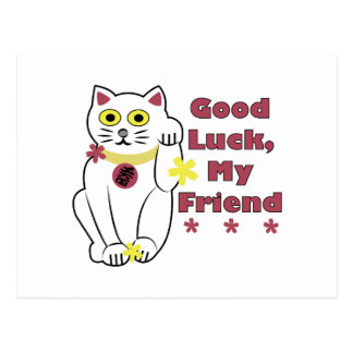 Good Luck Postcard