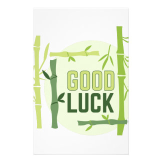 Good Luck Stationery