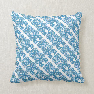 Good Luck Tiki Grade A Cotton Throw Pillow 16x16