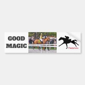 Good Magic - Breeder's Cup Champion Bumper Sticker