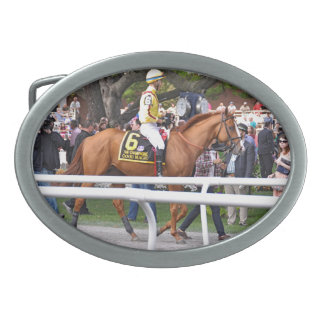 Good Magic - Breeder's Cup Champion Oval Belt Buckles