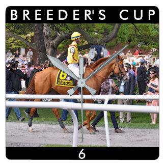 Good Magic Breeder's Cup Champion Square Wall Clock