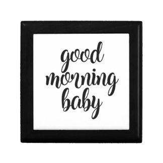 Good Morning Baby Gift Box