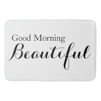 Good Morning Beautiful Bath Mat