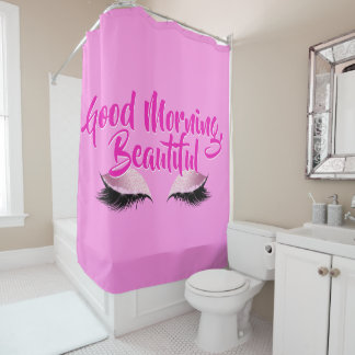 Good Morning Beautiful Makeup Pink Black