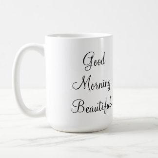 Good Morning Beautiful Basic White Mug