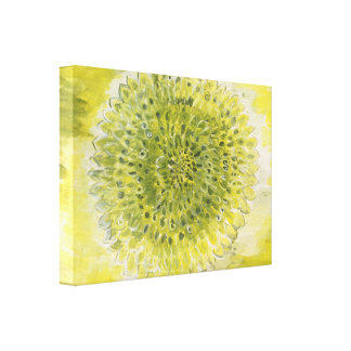 Good Morning Bright Flower Canvas Print