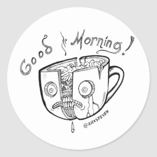 Good Morning Coffee - 1 - sticker