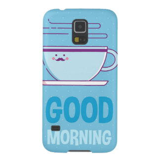 Good Morning Coffee Addicts Galaxy S5 Case
