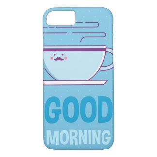 Good Morning Coffee Addicts iPhone 8/7 Case