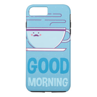 Good Morning Coffee Addicts iPhone 8 Plus/7 Plus Case