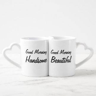 Good morning couples mug set