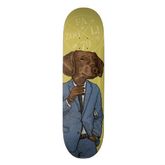 Good Morning, Dapper Doge Skate Board Decks