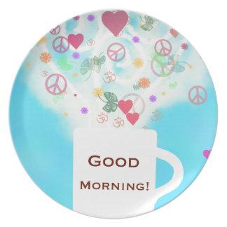 Good morning! dinner plate