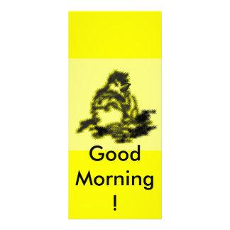 Good Morning ! Full Colour Rack Card