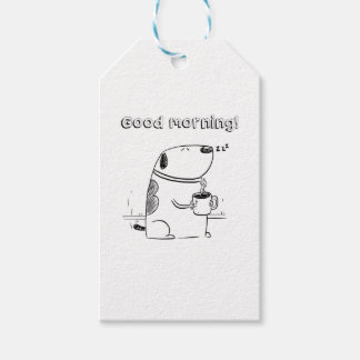Good Morning Gibo Gift Tags