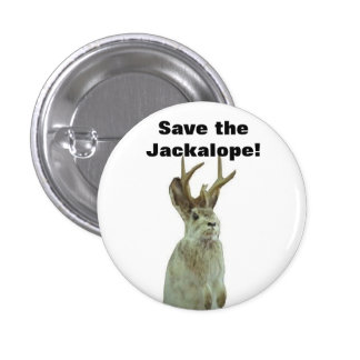 Good Morning Gomorrah: Save the Jackalope! 1 Inch Round Button
