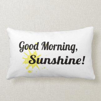 Good Morning / Goodnight pillow