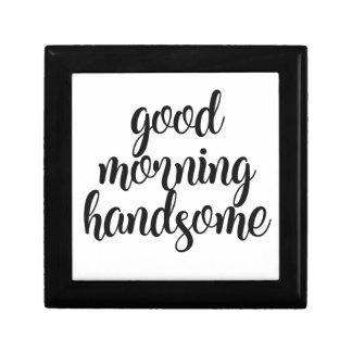 Good Morning Handsome Gift Box