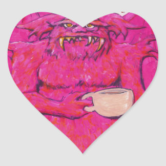 Good Morning! Heart Sticker
