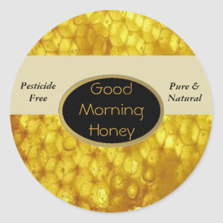 Good Morning Honey Labels