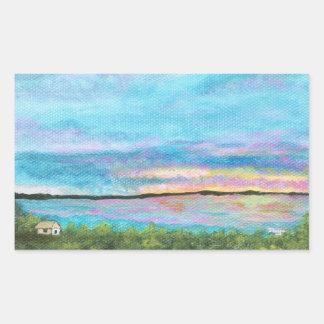 Good Morning Landscape Art Seashore Beach Sunrise