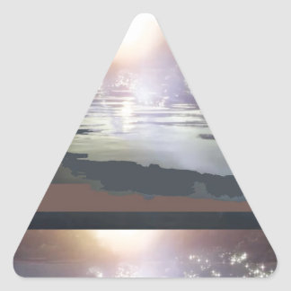 GOOD Morning Landscape : Northern Canada Triangle Sticker