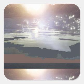 GOOD Morning Landscape : Northern Canada Square Sticker