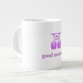 good morning large coffee mug