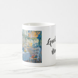 Good Morning (Le Dejeuner by Henri Le Sidaner) Coffee Mug