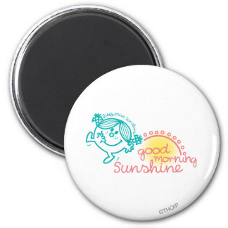 Good Morning Little Miss Sunshine Magnet
