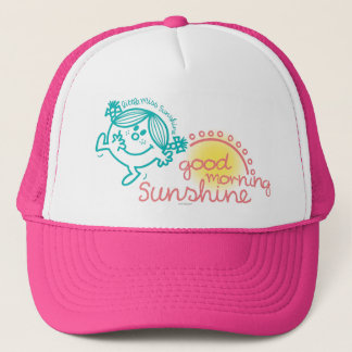 Good Morning Little Miss Sunshine Trucker Hat