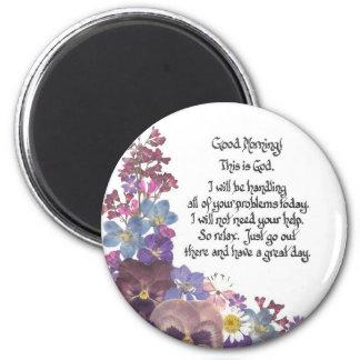 Good Morning Magnet