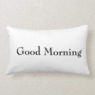 Good Morning & Night Pillow