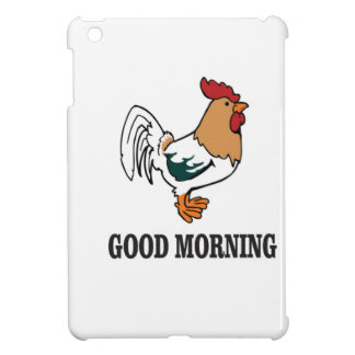 good morning rooster cover for the iPad mini