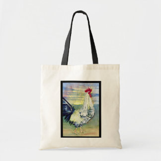Good Morning Rooster Painting Bag