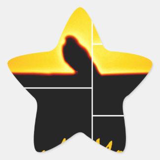 Good Morning Star Sticker