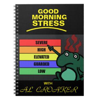 Good Morning Stress Notebook
