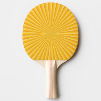 Good Morning Sunset Ping Pong Paddle