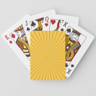 Good Morning Sunset Playing Cards