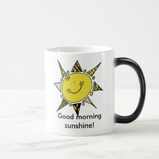 Good Morning Sunshine! 11 Oz Magic Heat Color-Changing Coffee Mug