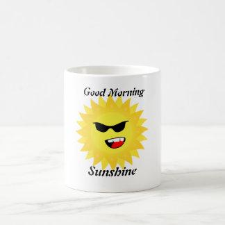 Good Morning Sunshine Coffee Cup Classic White Coffee Mug