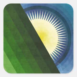 Good Morning Sunshine Square Sticker