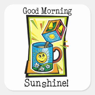 Good Morning Sunshine! Square Sticker