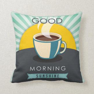Good Morning Sunshine Throw Pillow