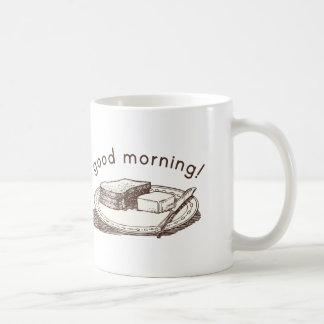 Good Morning Toast Coffee Mug